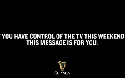 Karma Case Study – Guinness Rugby Plea For The TV
