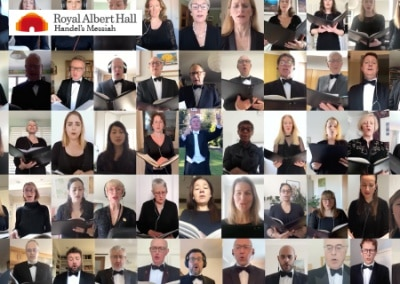 "Royal Choral Society & Royal Albert Hall ""Messiah"""