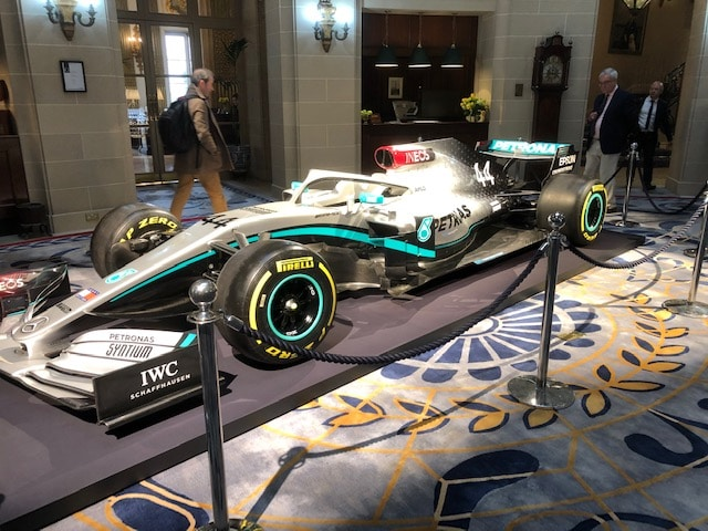 A Year Ago Today – Mercedes F1 Car Launch